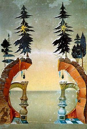 Christmas, by Salvador Dali
